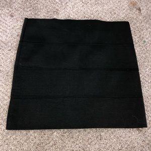 BB Dakota Black Bodycon Skirt